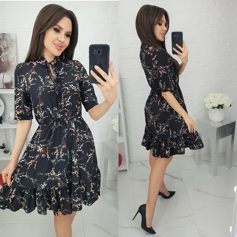 Женское красивое платье весна-лето