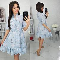 Женское красивое платье весна-лето, фото 3