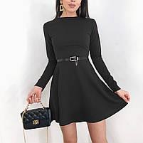 Женское красивое платье с длинным рукавом, фото 2