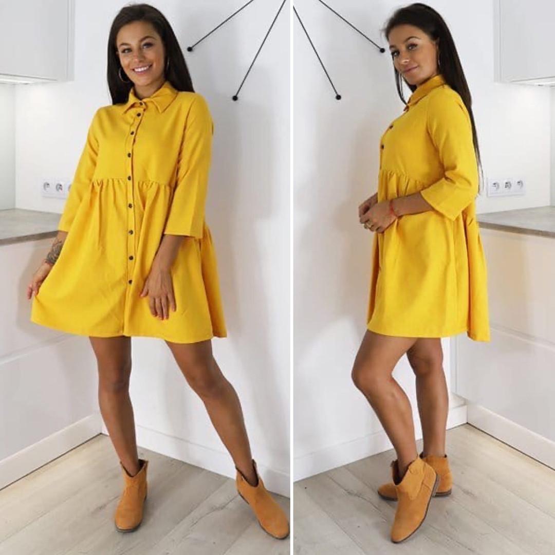 Женское стильное весеннее платье