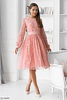 Женское стильное весеннее платье, фото 2