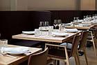 Квадратные столешницы из дерева для кафе и ресторанов, фото 4