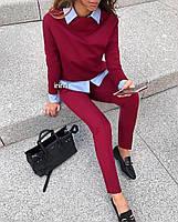 Женский стильный брючный костюм, фото 7