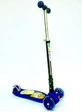 Самокат Scooter 03 MZ со складной ручкой, 4-х колесный, фото 2