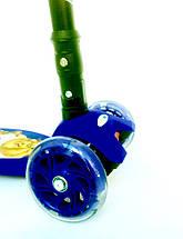 Самокат Scooter 03 MZ со складной ручкой, 4-х колесный, фото 3