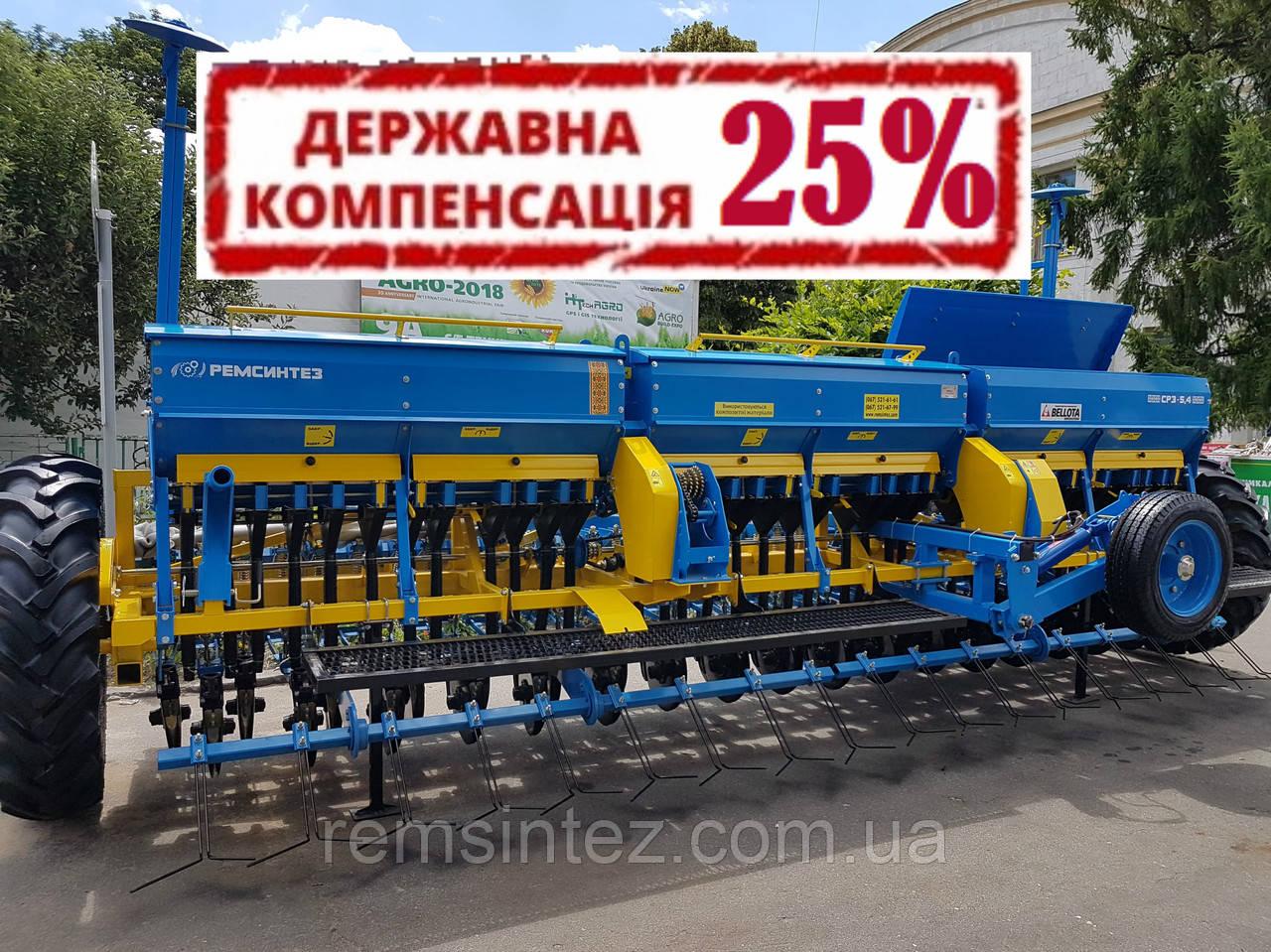 Сеялка зерновая СЗ (СРЗ) 5,4 (независимый поводок, диски Bellota)