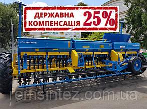 Сеялка зерновая СЗ (СРЗ) 5,4-02 с прикатывающими катками, независимым поводком