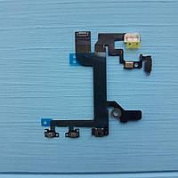 Шлейф Apple iPhone SE кнопки включения, регулировки звука, микрофона и вспышки