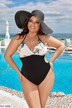 Женский красивый купальник большого размера