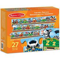 Розвиваюча іграшка Melіssa&Doug Паровозик Алфавіт 27 ел. (MD4420)