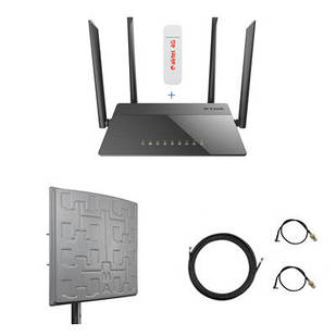 Комплект для 4G / 3G интернета на дачу