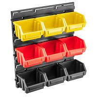 Скринька для інструментів Topex панель з лотками 34.5 x 38.5 x 12.5 см (79R170)