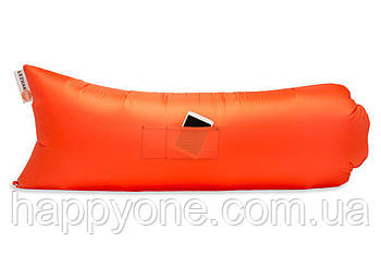 Надувной шезлонг (лежак) Standart (оранжевый)