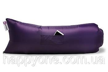 Надувной шезлонг (лежак) Standart (фиолетовый)