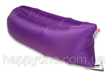 Надувной шезлонг-лежак RipStop (фиолетовый)