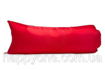 Надувной шезлонг (лежак) Light (красный)
