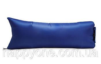 Надувной шезлонг (лежак) Light (синий)