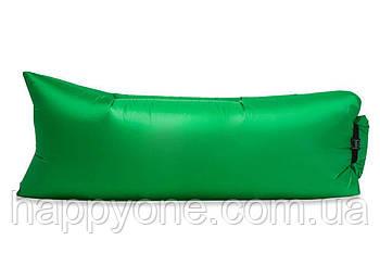 Надувной шезлонг (лежак) Light (зеленый)