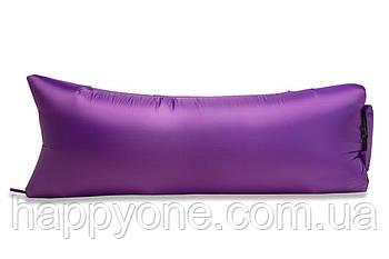 Надувной шезлонг (лежак) Light (фиолетовый)