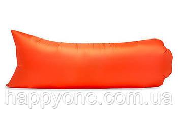 Надувной шезлонг (лежак) Light (оранжевый)
