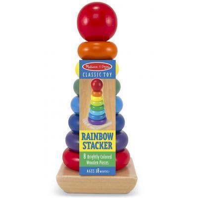 Розвиваюча іграшка Melіssa&Doug Райдужна пірамідка (MD10576)