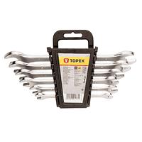 Ключ Topex ріжковий, двосторонній, 6 x 22мм, набір 8 шт (35D656)