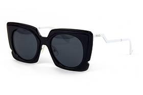 Женские брендовые очки Fendi с поляризацией ff0117s-bl SKL26-249443