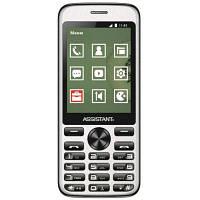 Мобільний телефон Assistant AS-204 Black (873293012797)
