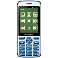 Мобільний телефон Assistant AS-204 Blue (873293012803)