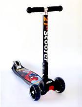 """Самокат Scooter 21st 403 MZ-1 Maxi зі складною ручкою """"Спайдермен"""" Spider-man"""