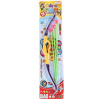 Лук со стрелами детский, с присосками!Пластиковая игрушка лук со стрелами, для мальчиков и девочек!, фото 1