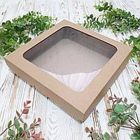 Коробка для пирогов, чизкейков, пирожков  250х250х55 мм.