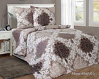 Комплект постельного белья двуспальный МОНА ( нав. 70*70)
