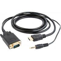 Перехідник HDMI to VGA 3.0 m Cablexpert (A-HDMI-VGA-03-10)