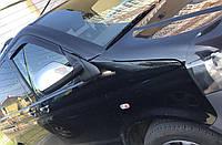 Накладки на зеркала Volkswagen Multivan T5 (2009-2015) нержавейка