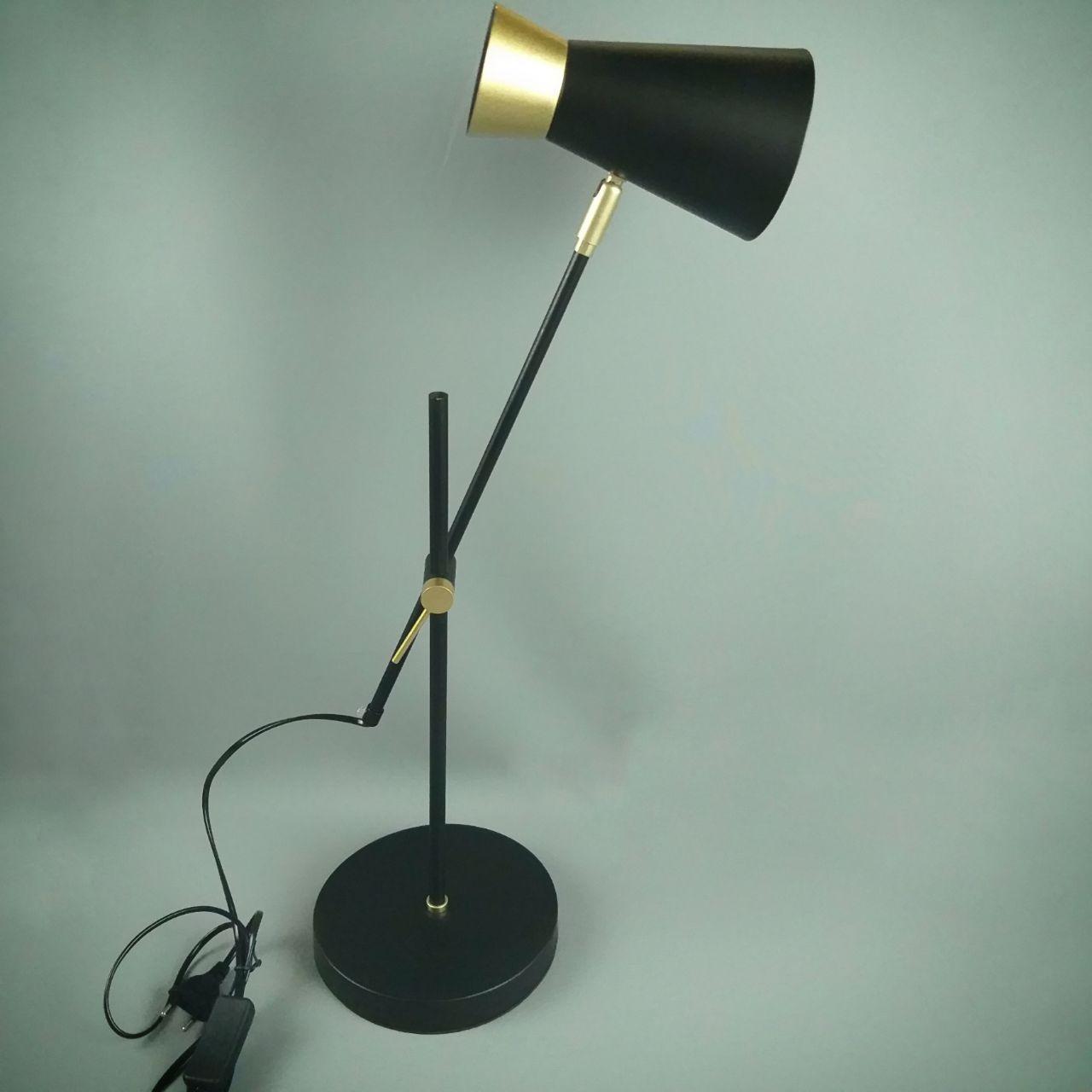 Лампа настільна 06-8700-1T BK+GD(10шт)ME