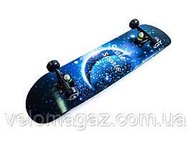 """Деревянный скейтборд """"Scale Sports"""" MOON, 79*20 см"""