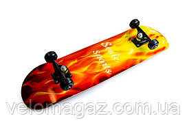"Деревянный скейтборд ""Scale Sports"" FIRE, 79*20 см"