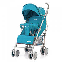 Коляска-трость прогулочная с амортизацией TILLY Pride T-1412 Blue, КОД: 1673850