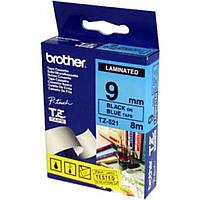 Стрічка для принтера етикеток Brother TZE521