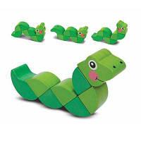 Розвиваюча іграшка Melіssa&Doug Головоломка Змійка (MD3031)