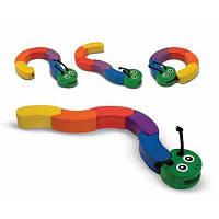 Розвиваюча іграшка Melіssa&Doug Головоломка Гусениця (MD3032)