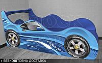Кровать машина Рейсинг ШОК Драйв от 1400х700, фото 1