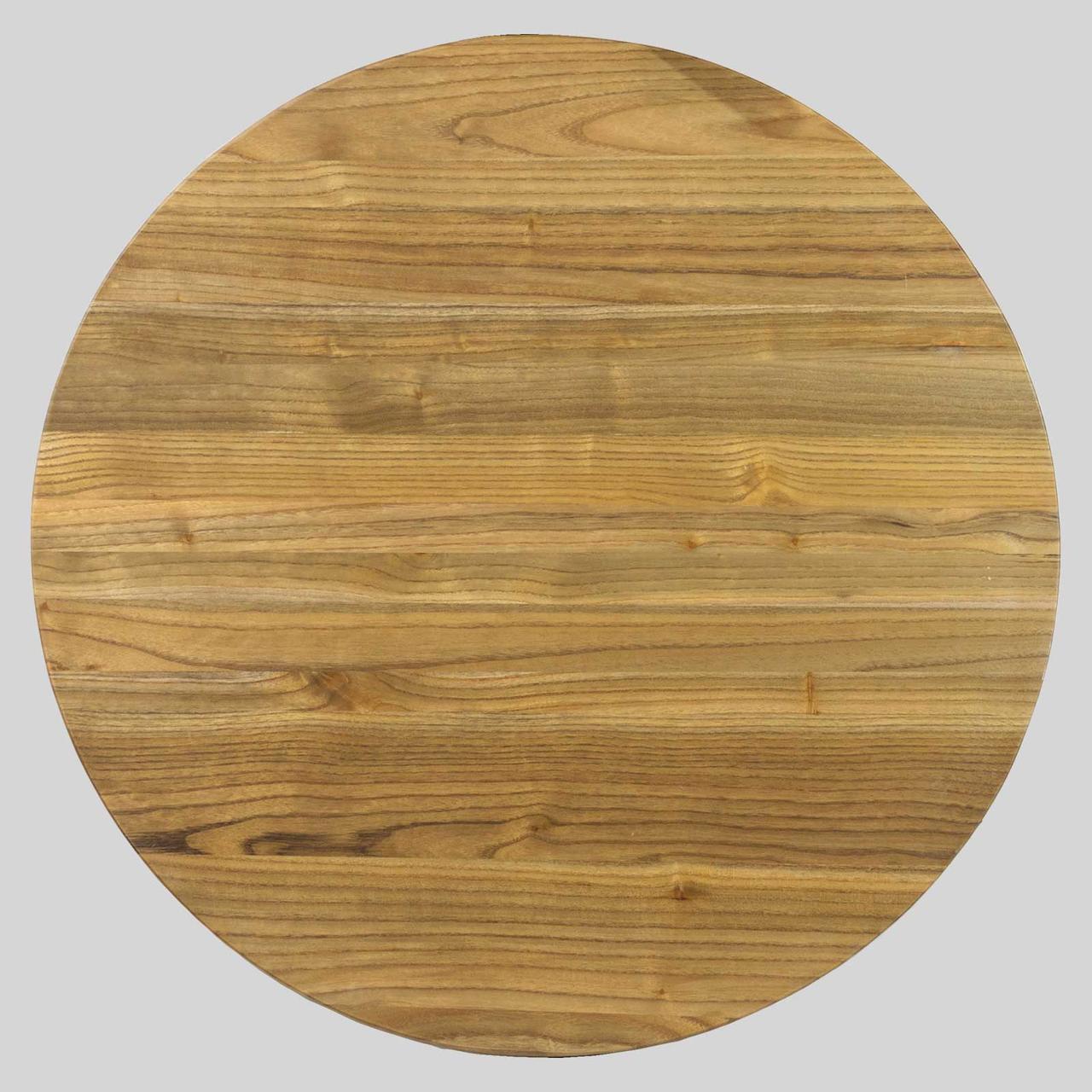 Деревянные круглые столешницы из массива для кафе