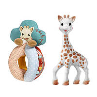 Подарочный набор Sophiesticated (Жираф Софи + погремушка), Sophie la girafe (Vulli), фото 1