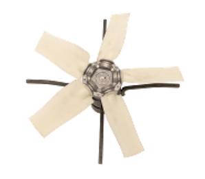 Вентилятор для шахты  Ø 63 см // Deltafan // Трьохфазный