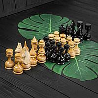 Набор деревянных шахматных фигур ручной работы STRYI, фото 1