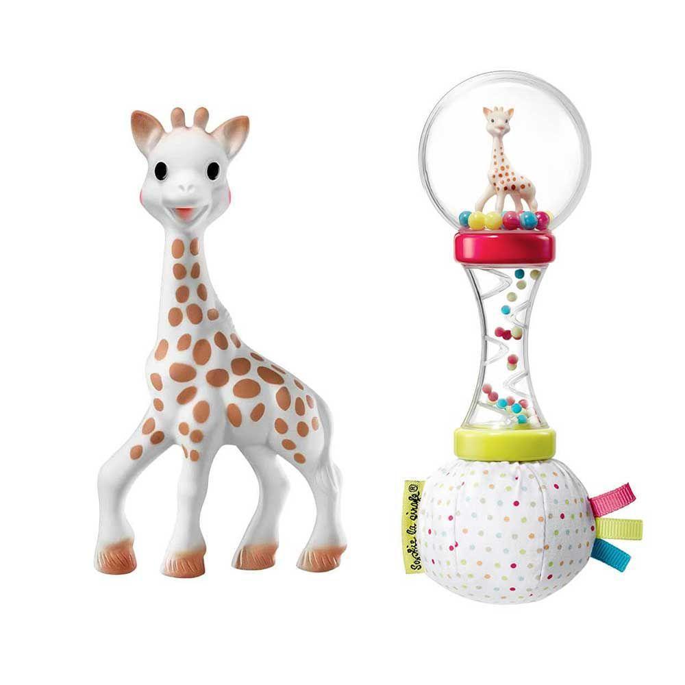 Подарочный набор Sophiesticated (Жираф Софи + погремушка-маракас), Sophie la girafe (Vulli)
