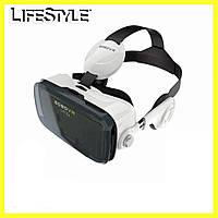 Окуляри віртуальної реальності VR BOX Z4 / 3D окуляри з навушниками