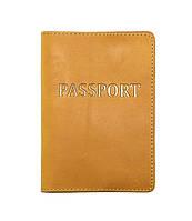 Обложка на паспорт DNK Leather Желтый DNK Паспорт-H col.E, КОД: 1470203